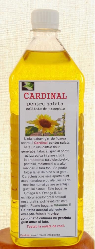 ulei presat la rece floarea soarelui