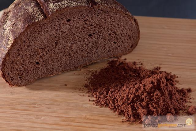 paine cu faina de struguri